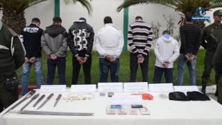 توقيف 7 متورطين  في جريمة قتل ببن طلحة