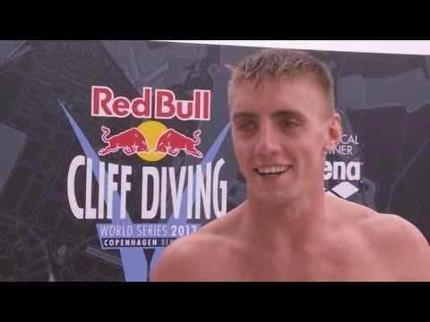 видео: Артем Сильченко Red Bull Cliff Diving 2013 - Denmark