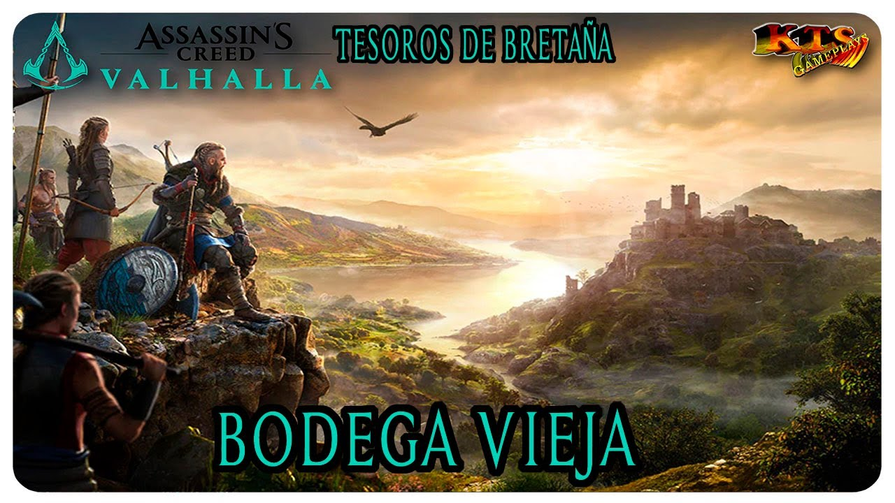 ASSASSIN´S CREED VALHALLA. | #232: BODEGA VIEJA. [TESOROS DE BRETAÑA]