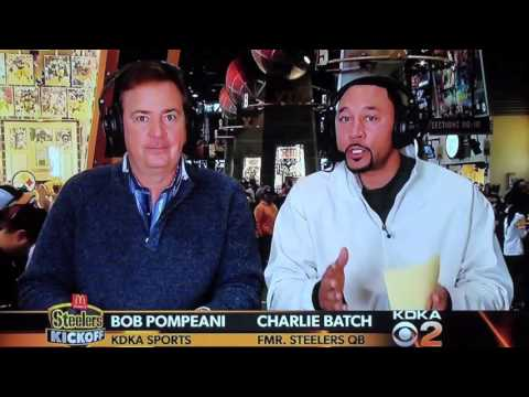 Charlie Batch talking about Pittsburgh Steelers Tight End Heath Miller