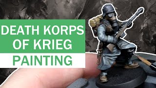 How To Paint Death Korps Of Krieg
