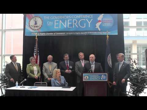 Governor McDonnell Announces VA Fleet Transition CNG & LPG Contracts