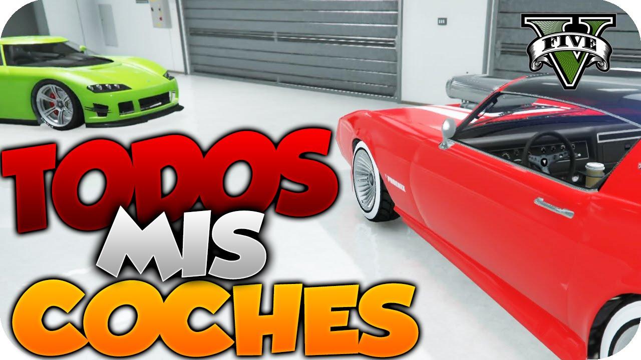 todos mis coches y motos mi garaje tour gta v online