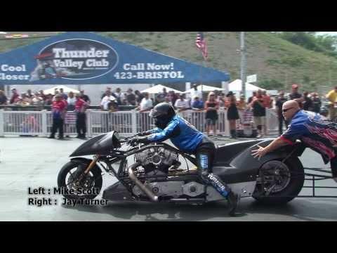 Nitro Harley - High Light Qualifying 3 at the NHRA 20110618