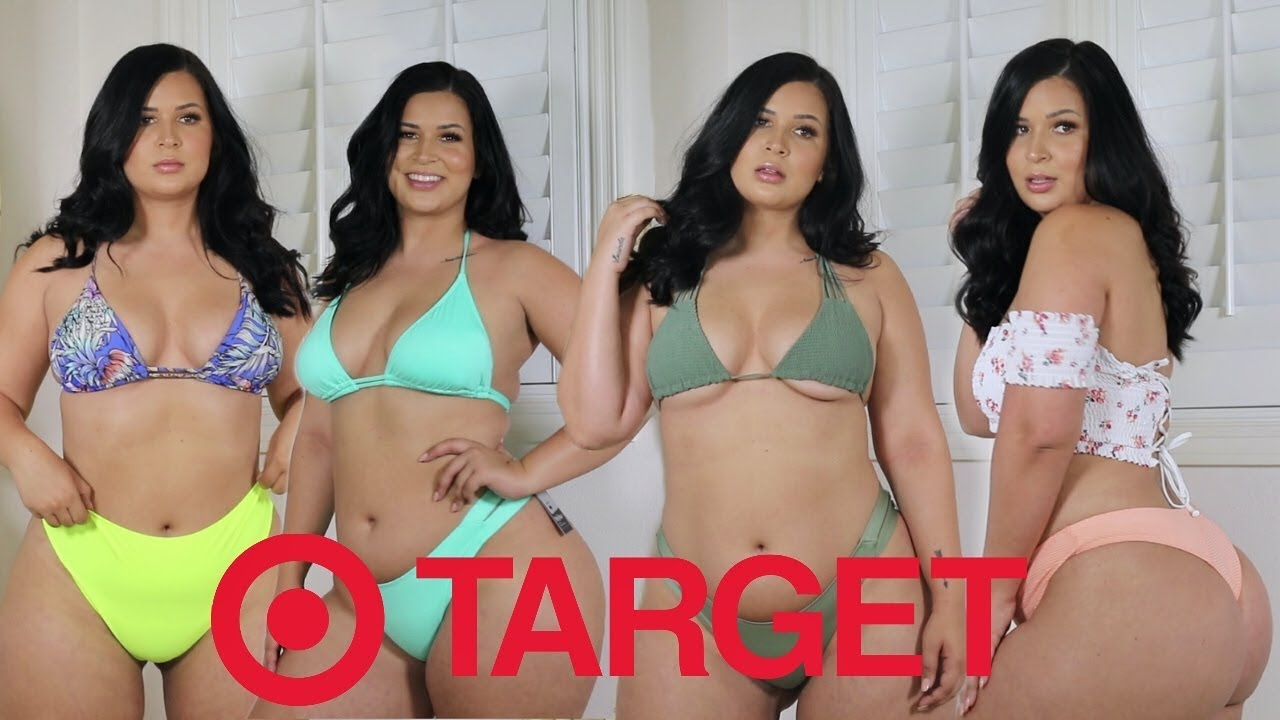 8a9bc925e0 I SPENT  300 ON TARGET SWIMSUITS! - YouTube