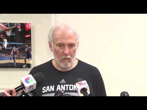 RAW VIDEO: Coach Gregg Popovich reflects on Spurs' season