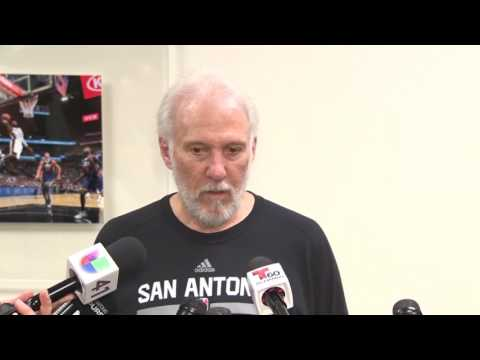 RAW VIDEO: Coach Gregg Popovich reflects on Spurs