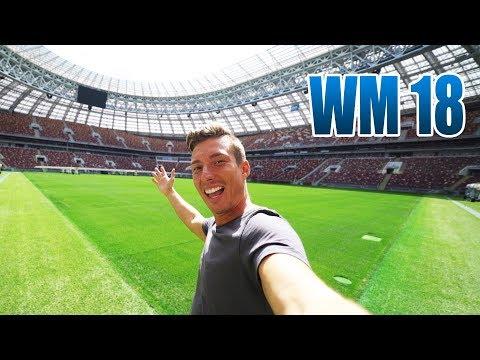 WIRD DEUTSCHLAND HIER WELTMEISTER? | FIFA Russland 2018 WM Luzhniki Stadion Moskau