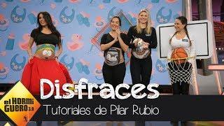 Pilar Rubio muestra los mejores disfraces para embarazadas - El Hormiguero 3.0