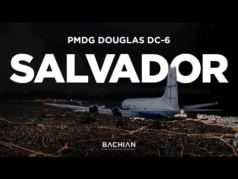 Prepar3D - PMDG DC-6 / Salvador → Aracajú (pane com retorno imprevisto)