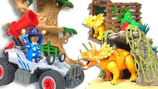 【Playmobil】Triceratops Trap 9434