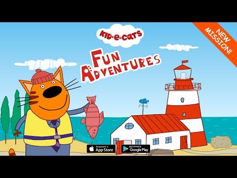 KidECats: Adventures. Kids for PC/ Laptop Windows XP, 7, 8/8.1, 10 - 32/64 bit