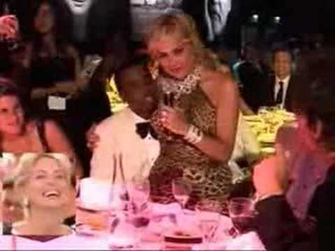 Sharon Stone, Puff Daddy et Ludo