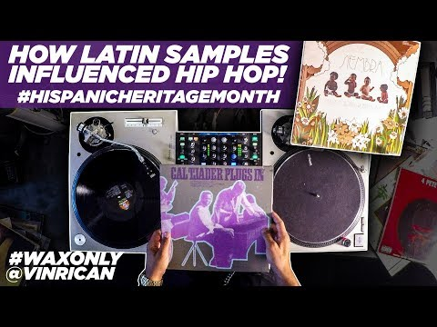 How Latin Samples Influenced Hip Hop With VinRican