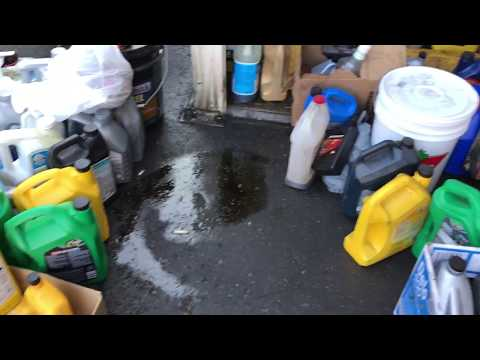 Canadian Tire Oil Spill - Oil Recycling Center