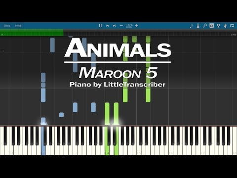 Maroon 5 - Animals (Piano Cover) by LittleTranscriber