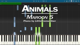 Maroon 5 Animals Piano Cover by LittleTranscriber.mp3