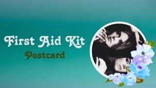 First Aid Kit - Postcard (Lyrics + Subtitulos)