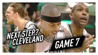 Isaiah Thomas, Kelly Olynyk & Al Horford Game 7 Highlights vs Wizards 2017 Playoffs ECSF - TOO SICK!
