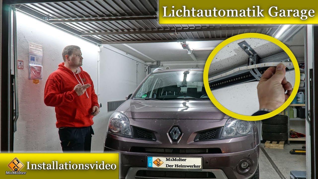 Garagen Innenbeleuchtung LED +Bewegungsmelder ...