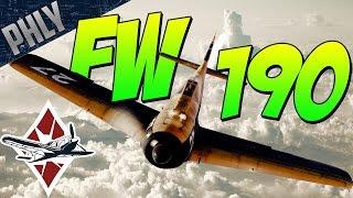 BUTCHER BIRD - Fw-190 A5/U2 (War Thunder Gameplay)