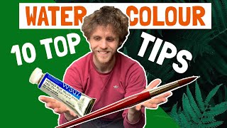 Top Tips for WATERCOLOUR Painting