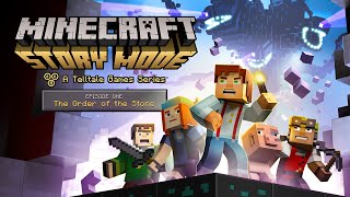 Minecraft: Story Mode Episode 1 - The Order of the Stone Offcial Game Trailer (By Telltale Games)