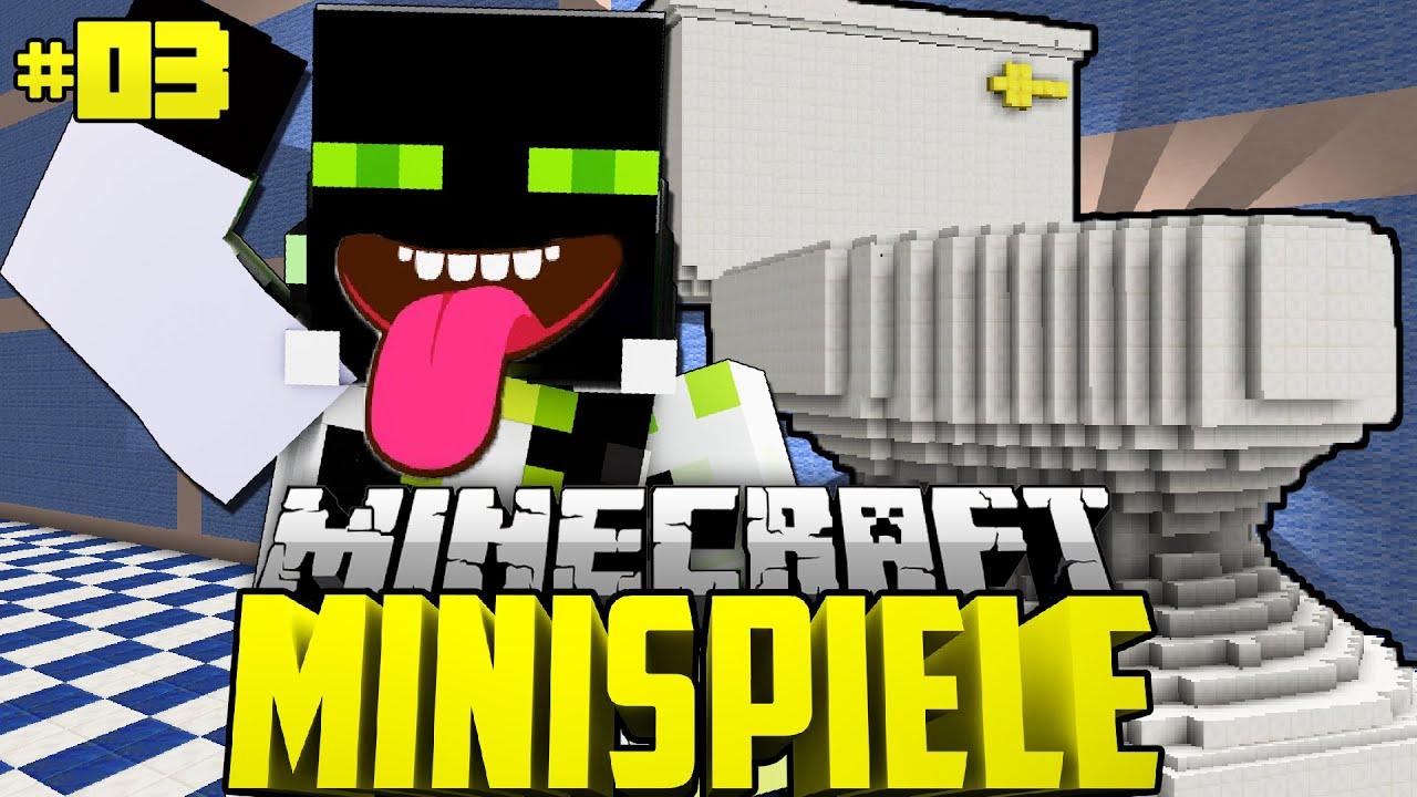 Die OFFIZIELLE TOILETTENPRÜFUNG Minecraft Minispiele - Minecraft minispiele