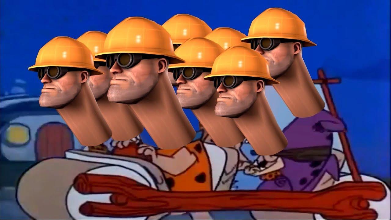 Tf2 Nopestones Flintstones Theme X Team Fortress 2 Song Parody