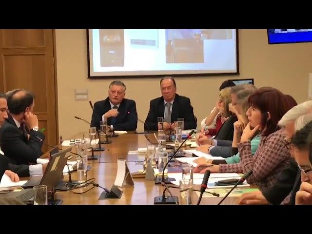 Esteban Krause en Comisión de Medio Ambiente d