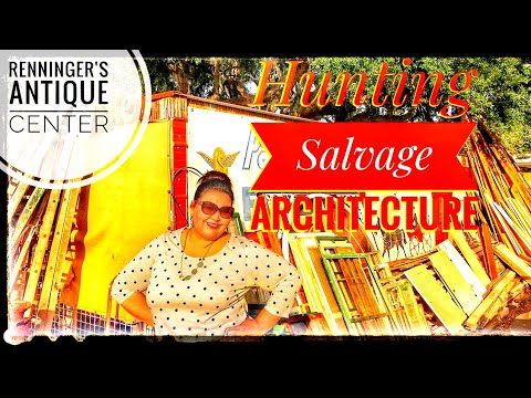 Renninger's Antique Center Hunting Salvage Architecture
