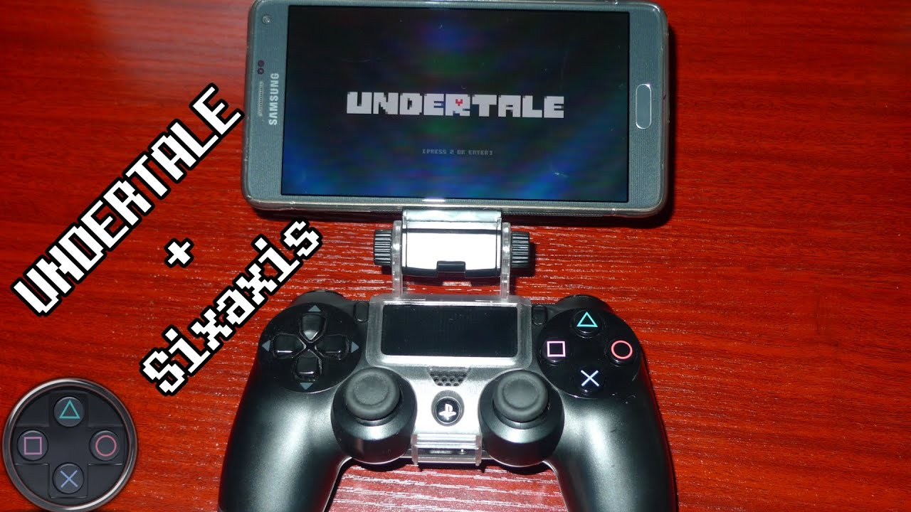 Undertale Android With Sixaxis Controller | How to Set It Up (PS3/PS4)