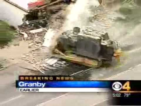 Killdozer Helicopter News Footage