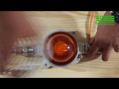 Оповещатель световой взрывозащищенный, заградительные огони взрывозащищенные Орбита МК М С