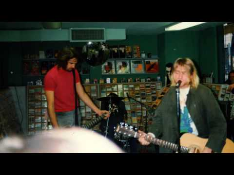Nirvana, Negative Creep acoustic rare version  Northern Lights, Minneapolis, MN 10/14/91