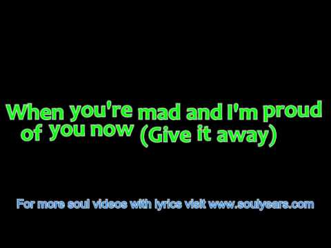 The Chi-Lites - Give It Away (with lyrics)