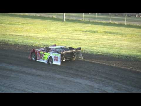 Red River Valley Speedway 06/24/2016 - NLRA Late Models Heat 2