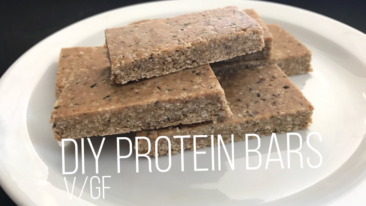 diy cookie dough protein bars youtube
