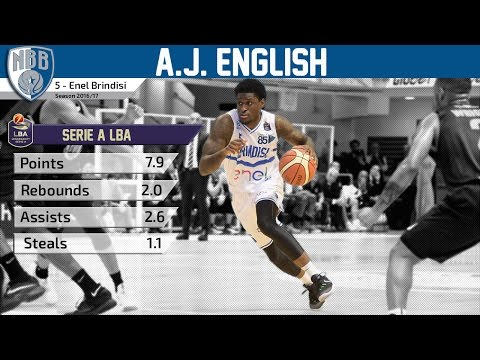 A.J. English - Enel Brindisi - Highlights 2016