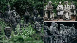 بالصور|«الحديقة اليابانية المرعبة».. أكثر من 800 تمثال يحدق في الزوار