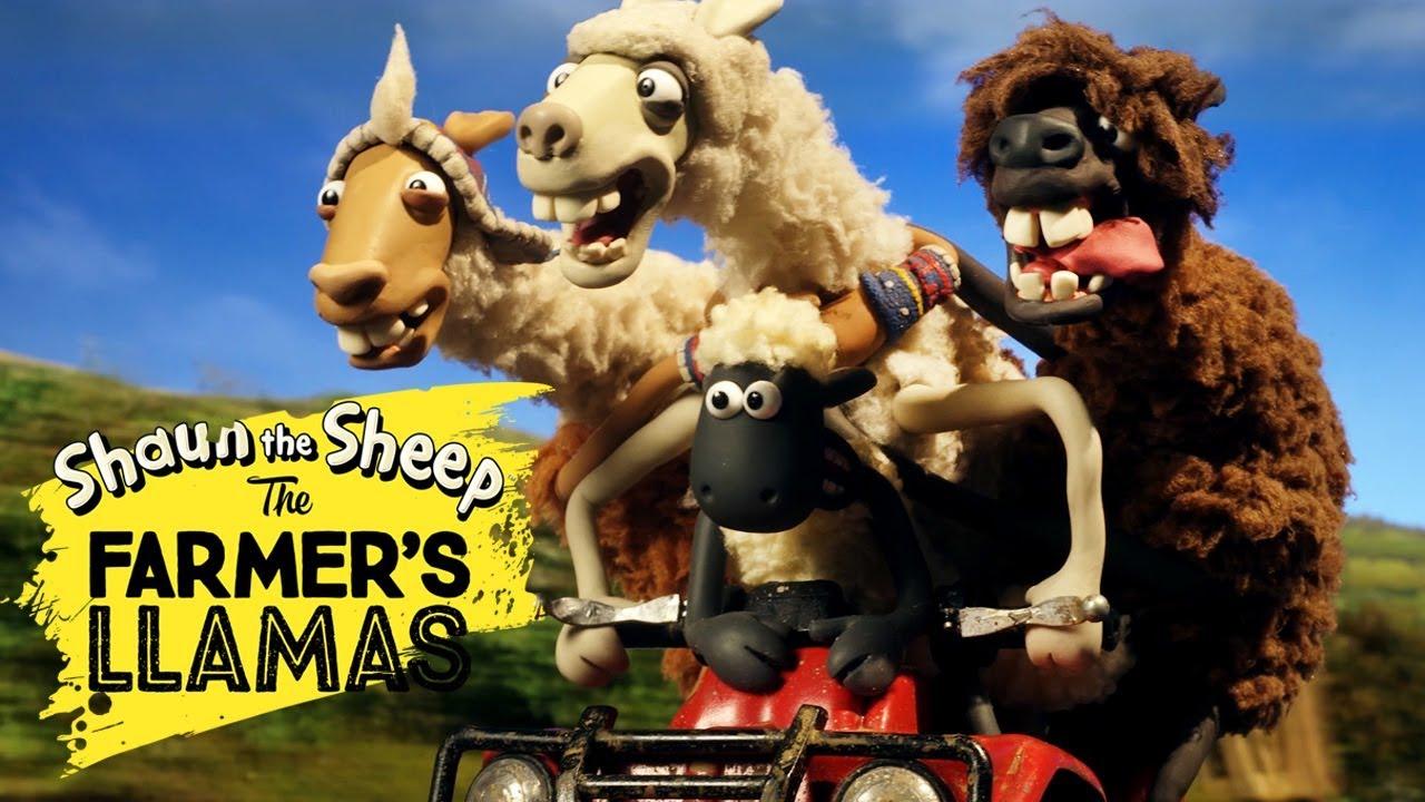 Bagian 2: Llama Pak Tani [The Farmers Llamas Part 2] | Shaun the Sheep