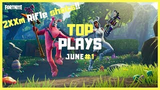 *HAPPY ACCIDENTS* Top Fortnite Clips Wins/Fails Of June 2018 #1