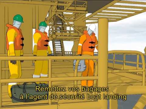 S320 Safety instructions for embarking via boat landing