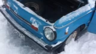 видео: О том как мы зимой завели Запорожец ( январь 2017г.)