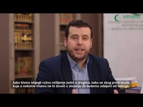 Poziv vjernicima (23) - Obaveza provjere vijesti - hafiz Ammar Bašić