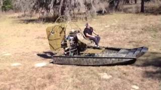 Dragonfly Mini Airboat