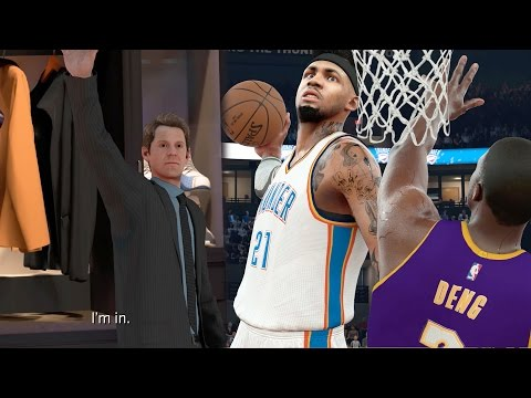 NBA 2k17 MyCAREER - Justice Mutombo! Soul Snatching Posterizer Dunk + Finally at Practice!! Ep 139