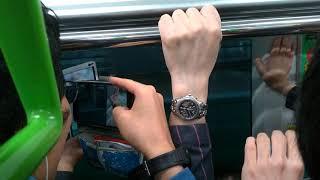 【1番列車】山手線 線路切替工事後 田町~品川 車内の様子と車窓