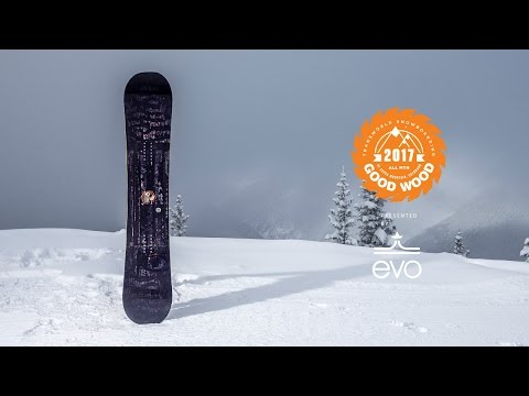 Best Snowboards of 2016-2017: Gnu Eco Choice  - Good Wood Snowboard Reviews