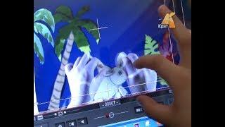 Мультфильмы своими руками. Студия мультипликации ''Позитивкино'' в г.Чусовой.